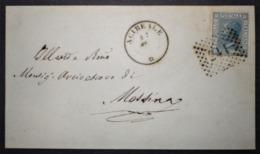Annullo Numerale ACIREALE Catania Numerali Sicilia - 1861-78 Vittorio Emanuele II