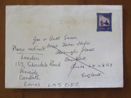Ireland 2000 Cover Camforth To England - Christmas - Donkey - Flight To Egypt - 1949-... Repubblica D'Irlanda