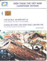 VIETNAM(chip) - Pho Co Hoi An, Cardphone Vietnam Telecard 150000D, Chip GEM3.3, CN : 0200, Used - Vietnam
