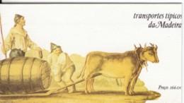 MADEIRA 1985 Libretto Trasporti Nuovo Con Gomma Integra - Libretti