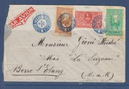 MADAGASCAR LETTRE DE DIEGO SUAREZ - Lettres & Documents