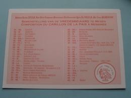 VREDESBEIAARD - CARILLON DE LA PAIX - FRIEDENSGLOCKENSPIEL ( Nirkam / Ghekiere ) Anno 19?? ( Zie Foto's ) ! - Messines - Mesen