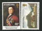 Duc De Wellington,vainqueur De Napoléon à Waterloo. 2 T-p Neufs ** De L'Île Sainte Hélène - Napoleon