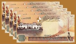 Bahrain Kingdom 5 Pcs Lot 500 Fils 2008 Banknote UNC Money - Bahrein