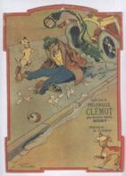 Publicité Pharmacie Clémot à Niort - Support De Calendrier - 19 X 26 Cm - Advertising
