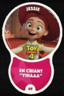 Carte à Collectionner Disney Auchan Les Défis Effet Jessie 69 / 96 - Andere Sammlungen
