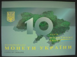 Ukraine  Coins Set Coins For Circulation 2008 10 Years Of The Mint Of The NBU Of Ukraine - Ukraine