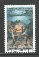 Andorra, Yv 563 Jaar 2002, Hoge Waarde, Gestempeld - Used Stamps