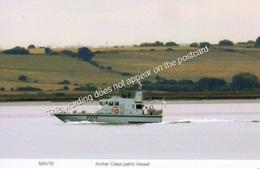 Archer Class Patrol Vessel River Thames - Warships