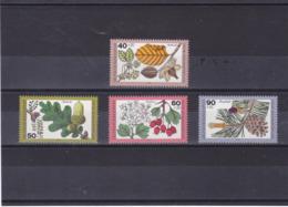 RFA 1979  FLORE DES FORËTS Yvert 870-873 NEUF** MNH  Cote : 5 Euros - Neufs