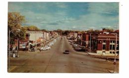 TOMAHAWK, Wisconsin, USA, Main Street & Stores, Old Cars, 1960's Chrome Postcard - Sonstige