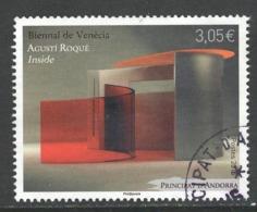 Andorra, Yv 770 Jaar 2015,  Hele  Hoge Waarde, Gestempeld - Used Stamps
