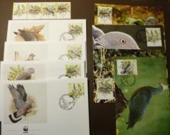 Portugal Madeira 1991 Birds Vögel Oiseaux Ucelli WWF Pigeon Maxi Card FDC MNH ** #cover 4981 - W.W.F.