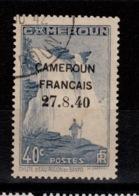 Cameroun - YV 217 Oblitere , Surcharge 27.8.40 , Rare - Camerun (1915-1959)