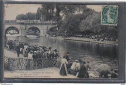 Carte Postale 94. Joinville Concours De Natation 24 Juin 1906  Très Beau Plan - Joinville Le Pont