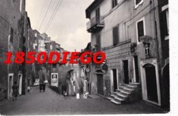 BASSANO ROMANO - VIA ROMA  F/GRANDE VIAGGIATA ANIMATA INSEGNE TABACCHI - Viterbo