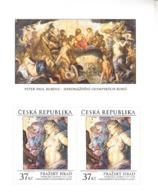 2014 Czech Republic Rubens Art Painting Souvenir Sheet MNH @ BELOW FACE VALUE - Rubens