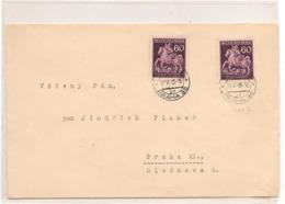 Occupation Allemande PRAHA Année 1943 - Briefe U. Dokumente