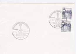 BRD Mi:913.lC/ D Schloss Glücksburg. K Stempel: 3402 Dransfeld. Ferienort. Gauss - Turm. 17.2.84 - Machine Stamps (ATM)
