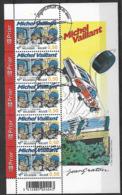 OCB Nr 3350 Michel Vaillant Graton Strip BD Comic Cartoon Sheet - Centrale Stempel Avelgem - Bélgica