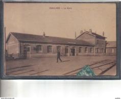 Carte Postale 80. Chaulnes  La Gare Très Beau Plan - Chaulnes
