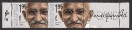 Bosnia Serbia 2019 150 Years Birth Of Mahatma Gandhi Famous People India, Middle Row MNH - Mahatma Gandhi