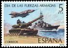 ESPAÑA 1979 - DIA DE LAS FUERZAS ARMADAS - Edifil 2525 - Yvert 2171 - Militares