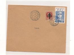 FRANCE Année 1944 ENTIER POSTAL F.F.I. - Marcophilie (Lettres)