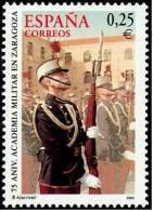 ESPAÑA 2002 - ACADEMIA MILITAR DE ZARAGOZA - Edifil Nº 3886 - Yvert Nº 3451 - Militares