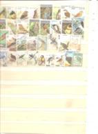 Vrac Thème OISEAUX Lot De 100 Timbres Oblitérés - 209 - Stamps