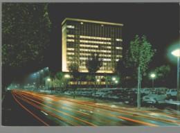 CPM 38 - Grenoble - La Nouvelle Mairie - La Nuit - Grenoble