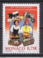 MONACO 2017  - Y.T. N° 3106 ( GRANDE BOURSE 2017  ) - NEUF ** - Monaco