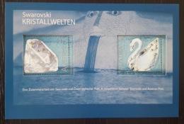 Österreich / Austria 2004; Swarovski Crystals, Jewellery; Animals, Birds; Swan; MNH / Neuf** / Postfrisch!! - 1945-.... 2nd Republic