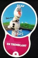 Carte à Collectionner Disney Auchan Les Défis Effet Olaf 81 / 96 - Andere Sammlungen