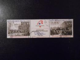 FRANCE   YT 2537/2538 BICENTENAIRE DE LA REVOLUTION PHILEXFRANCE 89 - France