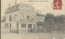 Rambervillers  Place De La Gare    Hotel Café    Animation...... - Rambervillers