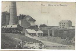 BELGIQUE - ATHUS - RARE - L'Usine Vue Sur L'Economat - 1910 - Autres