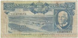 Angola - 50 Escudos - 10.06.1962 - Pick 93 - Série 1 IT - Américo Tomás - PORTUGAL - Angola