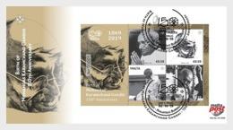 H01 Malta 2019 Birth Of Mohandas Karamchand Gandhi - 150th Anniversary FDC - Malta (Orden Von)