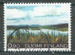 Finlande YT N°773 Europa 1977 Paysages Oblitéré ° - Europa-CEPT