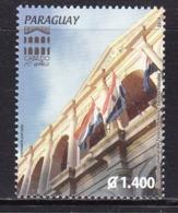 2014 ParaguayCabildo Culture Center Flags   Complete Set Of 1 MNH - Paraguay