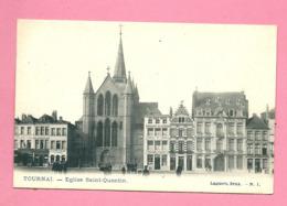 C.P. Tournai  =  Eglise Saint-Quentin - Tournai