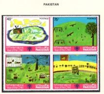 YEAR INTERN. OF CHILD - PAKISTAN - Mi. Nr. 496/499 - NH - (6532-20.) - Pakistan