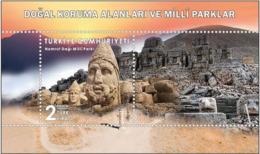 Turkey 2019, National Protection Areas, Nemrut Mountain, MNH Sheet - 1921-... Repubblica