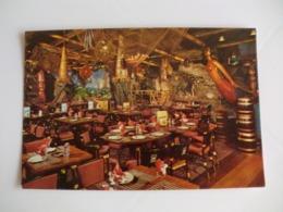 Postcard Postal Tahiti Beachcomber Restaurant May Fair Hotel - Tahiti