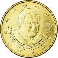Cité Du Vatican, 50 Euro Cent, 2012, FDC, Laiton, KM:387 - France