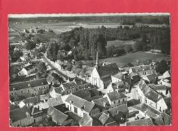 CPSM Grand Format  - En Avion Au Dessus De...6 - St Romain Sur Cher  - (L.-et-C.) - Le Centre Du Bourg - Sonstige Gemeinden