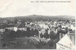 CPA - 03 - VICHY - VUE GENERALE Et MONTAGNE VERTE - ALLIER AUVERGNE RHONE ALPES - Vichy