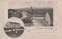 57 - GUENANGE - 2 VUES - RESTAURANT GAMA ET LE VILLAGE - Other Municipalities