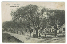 PONT SAINT ESPRIT, Cours Du Midi - Circulée 1918 - Pont-Saint-Esprit